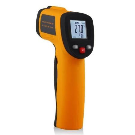 LCD IR Laser Infrared Digital Temperature Thermometer Gun GM320